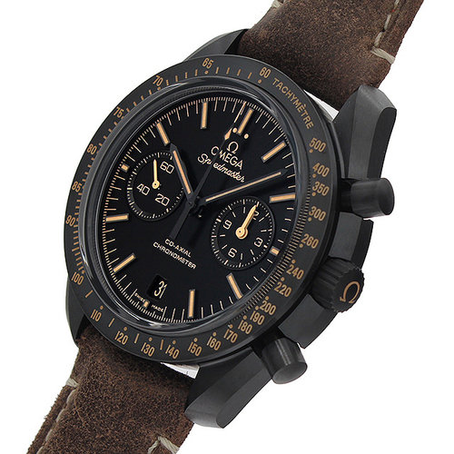 d1ef491e02e Omega Speedmaster Moonwatch Co-Axial Black Dial Chronograph Automatic Men s  Watch 311.92.44.51.01.006 NEW for sale