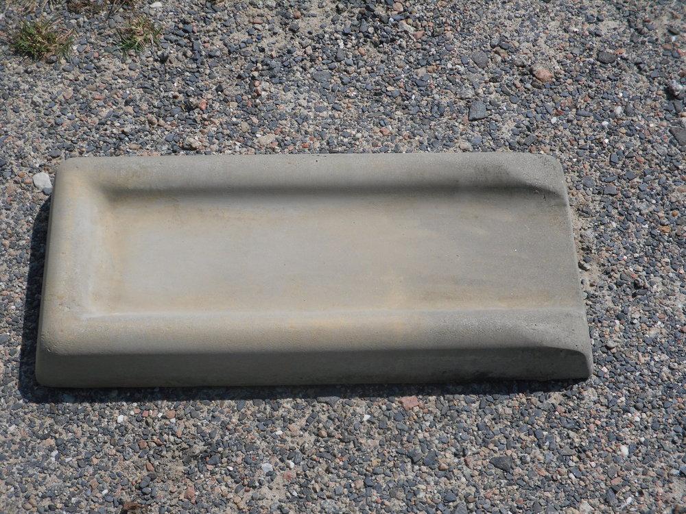 concrete splash block
