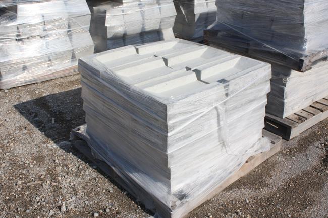bulk concrete splash blocks