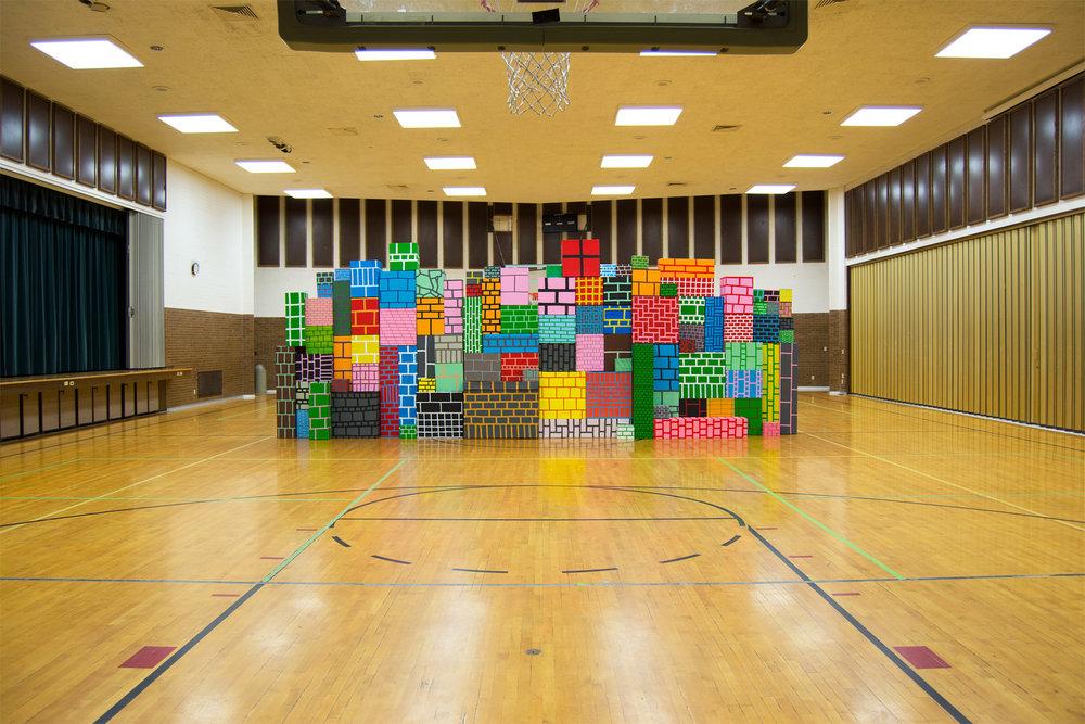Misplaced Wall (B-ball)