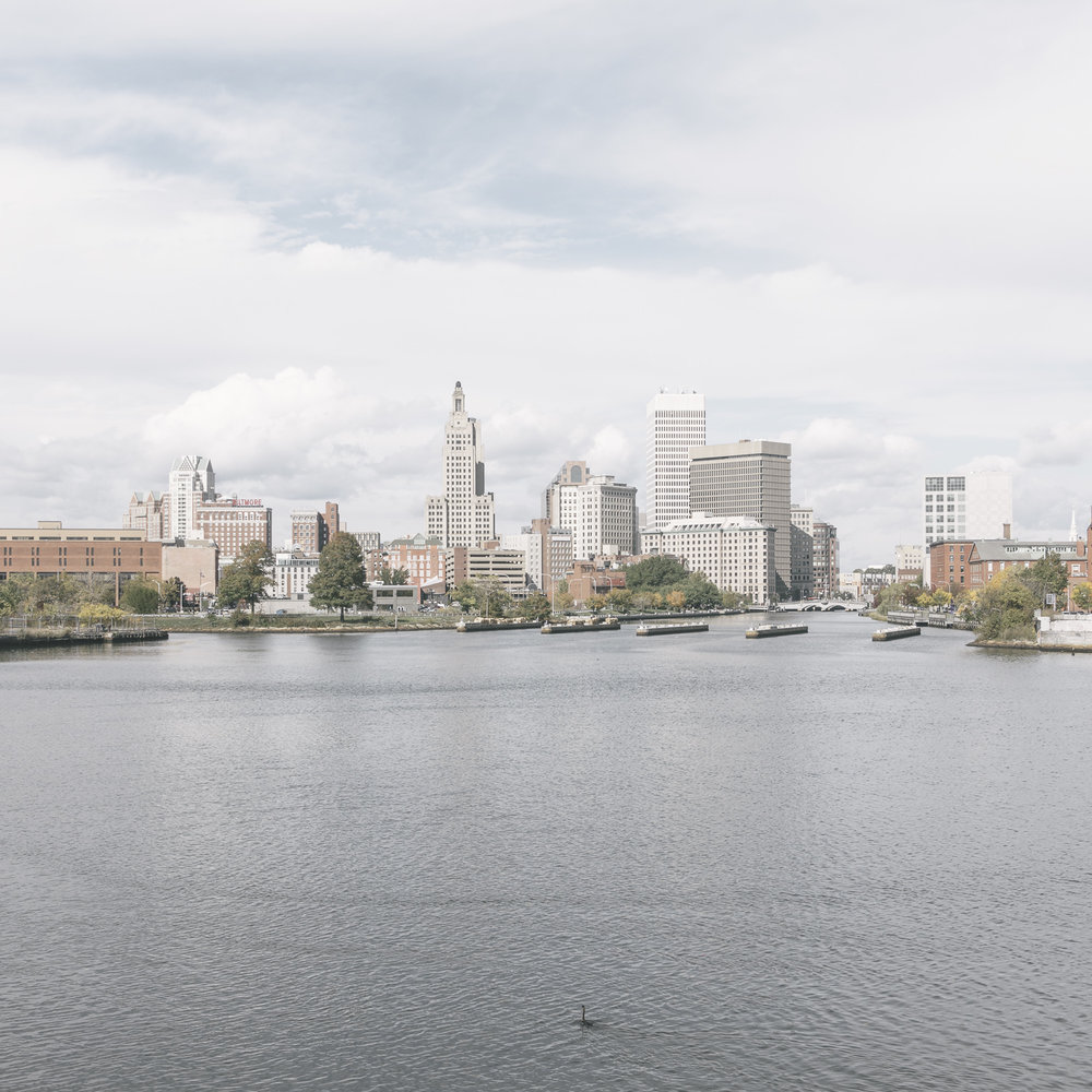 untitled (downtown seen from the harbor), Providence, Rhode Island, 2015