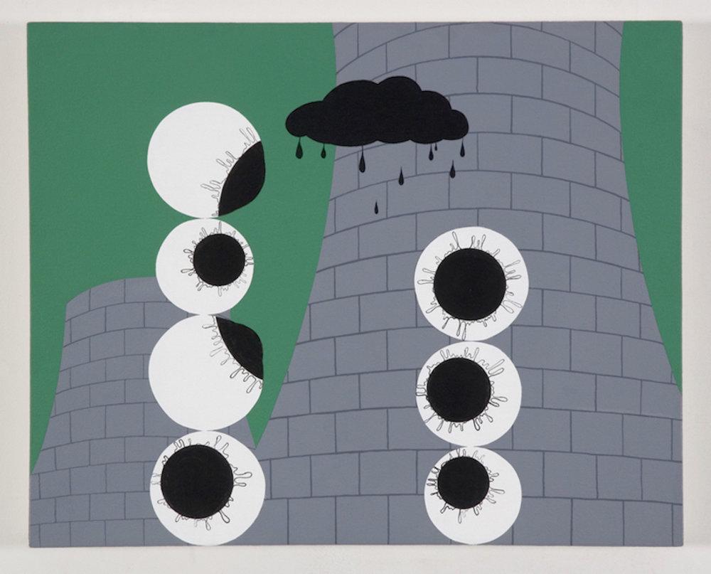 Babylon , acrylic on canvas, 16 x 20 inches, 2006