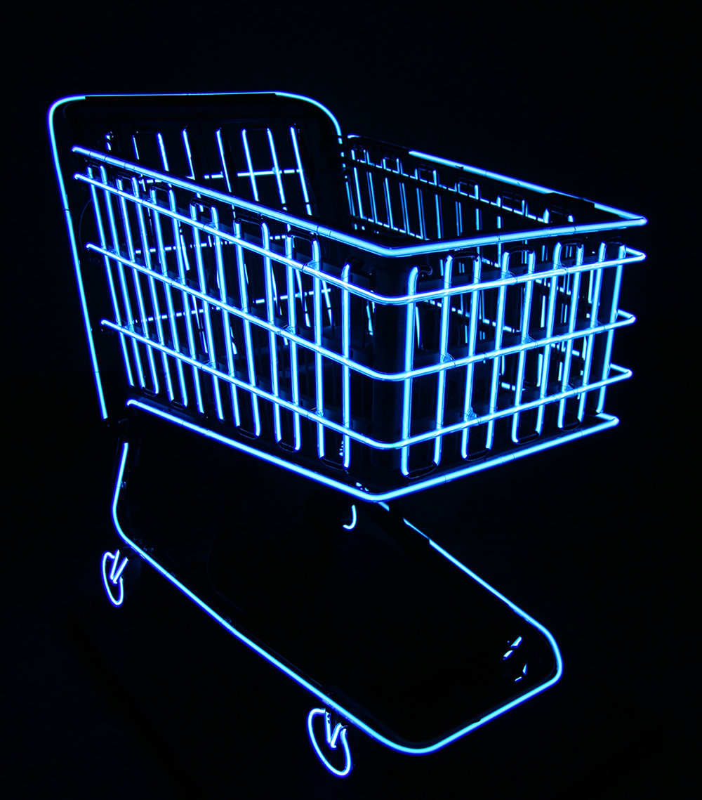Shopping Cart (Re:Production), neon