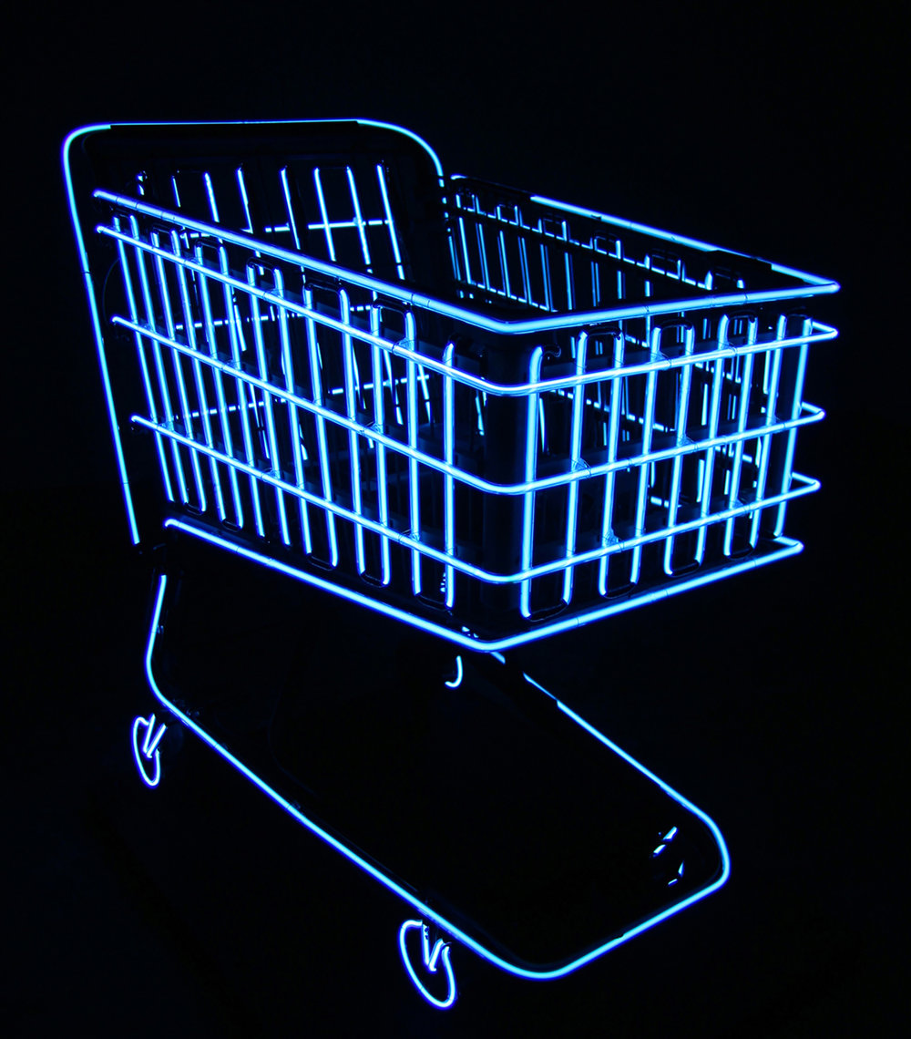 Shopping Cart (Re:Production) , neon