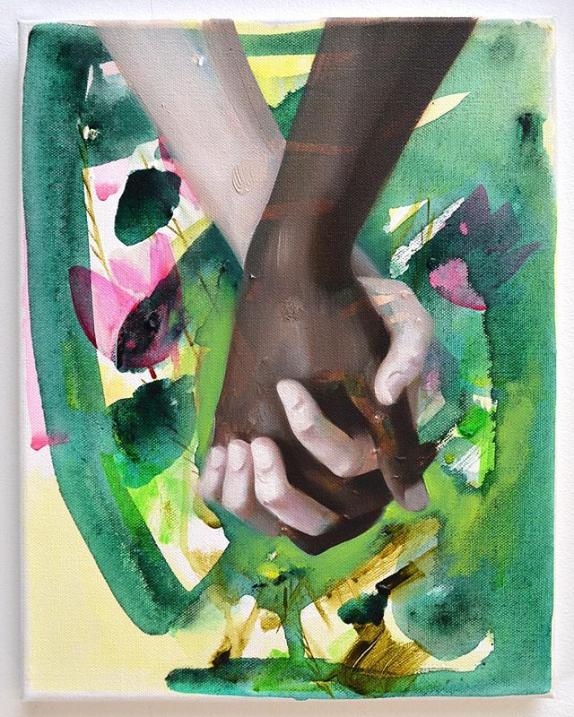 Get those #FollowerFriday submissions in! Great content on the way for @bemiscenter @millicent.young and @womenandtheirwork . Here's a wonderful painting by past FF featured artist Karen Azarnia @karenazarnia , currently serving as a Lecturer at the School of the Art Institute of Chicago. #art #artist #artbook #artmag #callforart #artblog #callforentries #contemporaryart #drawing #painting #photography #sculpture