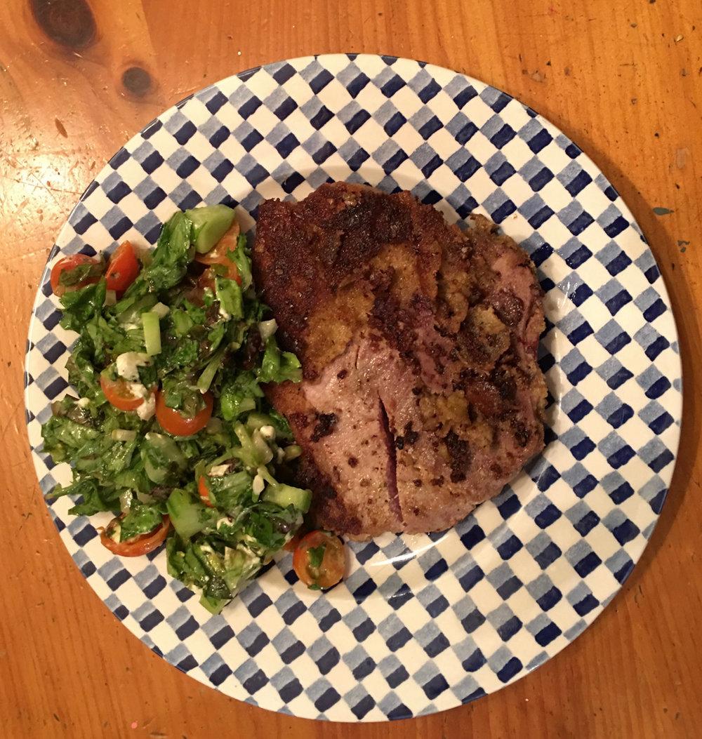 Meredith's Parmesan Pork Loin