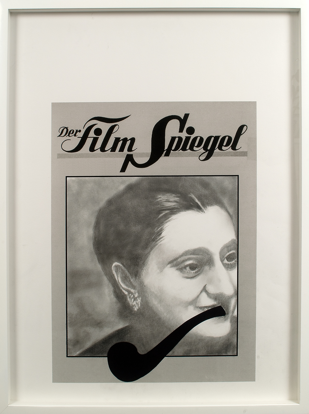 no.11- Untitled ( Indira Gandhi) pencil on paper, ink jet print 2007/08