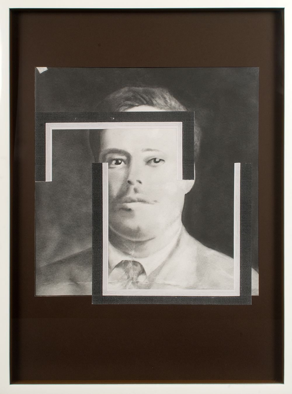 "no.32- Untitled (Francisco ""Pancho"" Villa) pencil on paper, ink jet print, 21""x28""/             53cmx71cm, 2007/08"