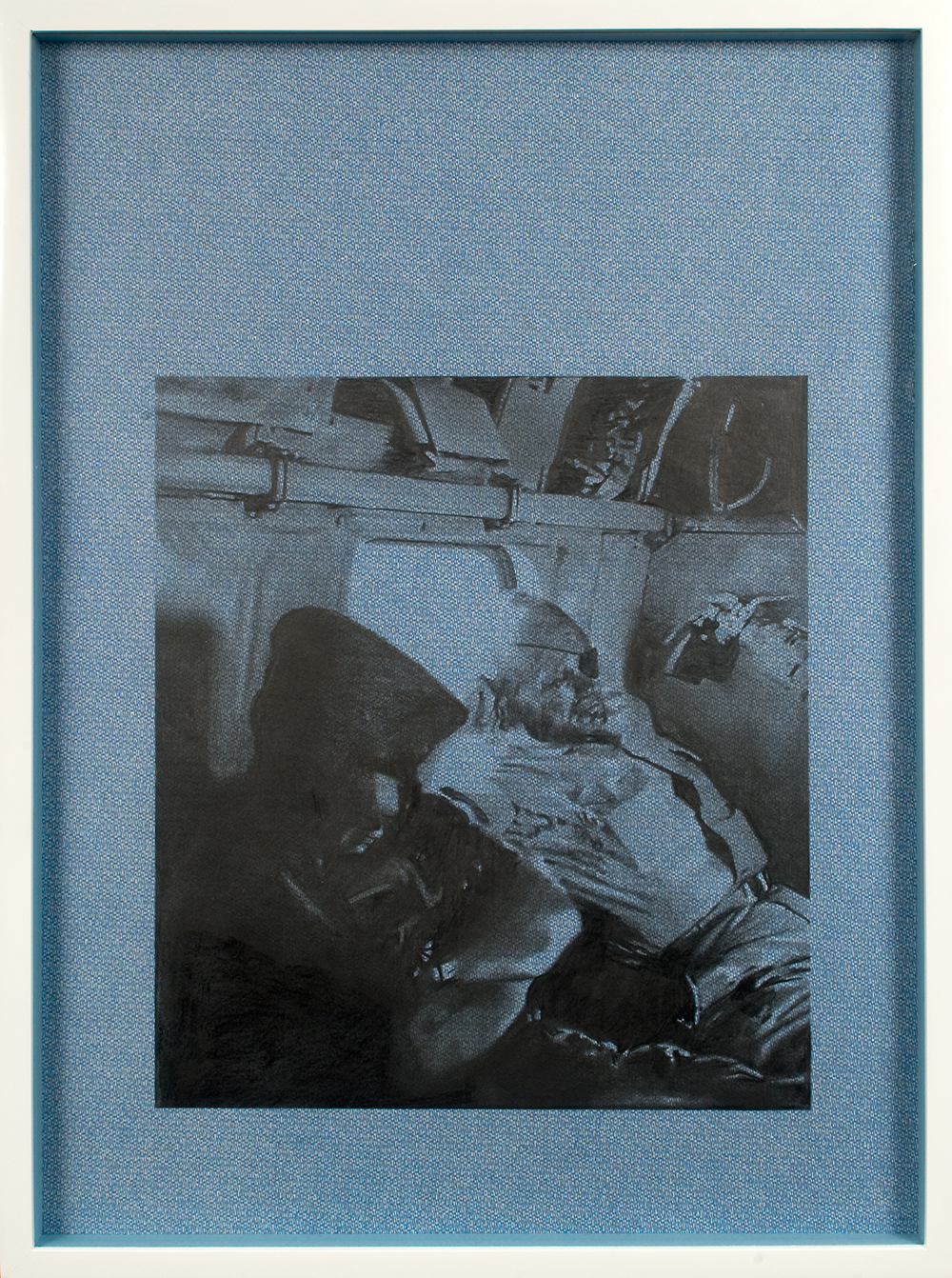 "no.34- Untitled (Yitzak Rabin) pencil on paper, ink jet print, 21""x28""/ 53cmx71cm,            2007/08"