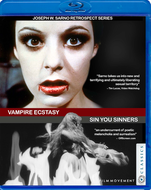 Series 1 Blu-Ray from the Joe sarno retrospect - Vampire Ecstasy/Sin You Sinners
