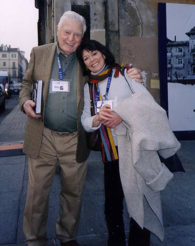 Joe and Peggy Sarno in Torino 2006