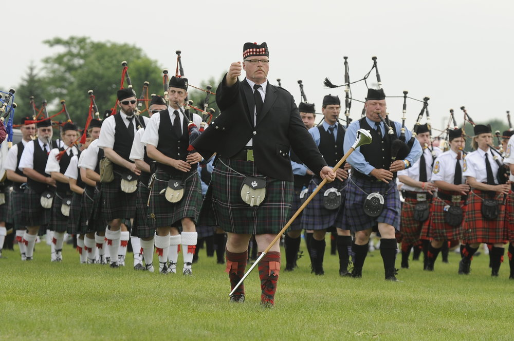 Piping & Drumming - Listen to the talented pipers and drummers at their very best as they compete for top solo and pipe band honors.Did you know that the Scottish Festival & Highland Games has one of the largest piping and drumming championships in North America? Come check it out!