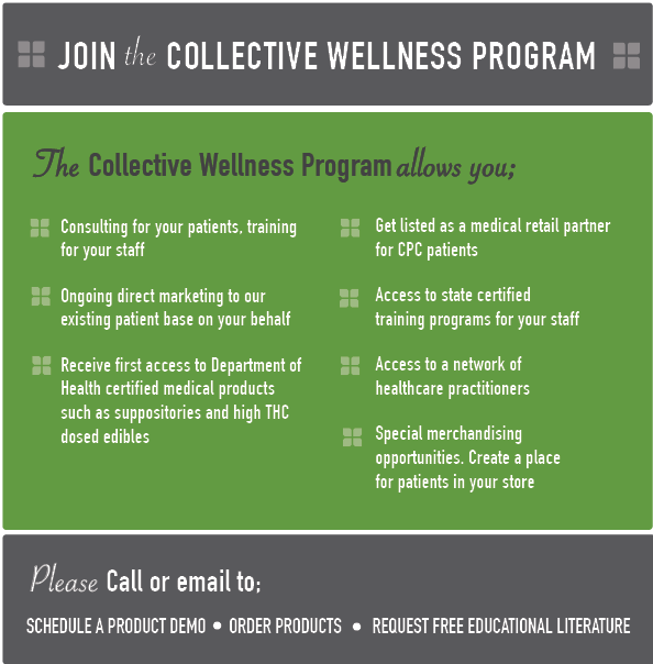 The CPC Collective Wellness flyer and Program features