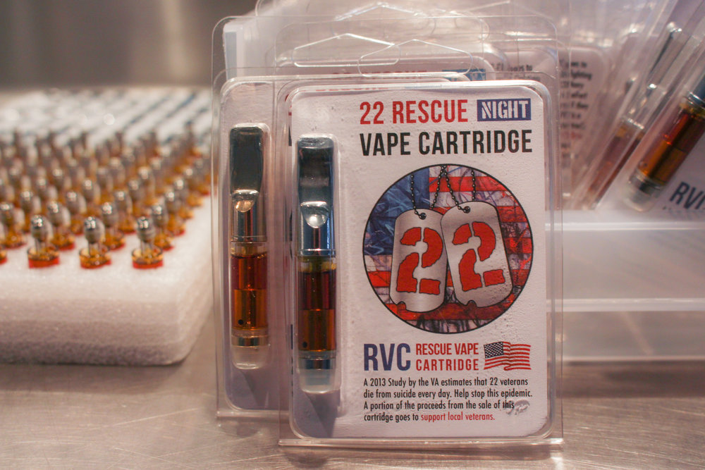 Cannabis Vape Cartridge 22 RVC