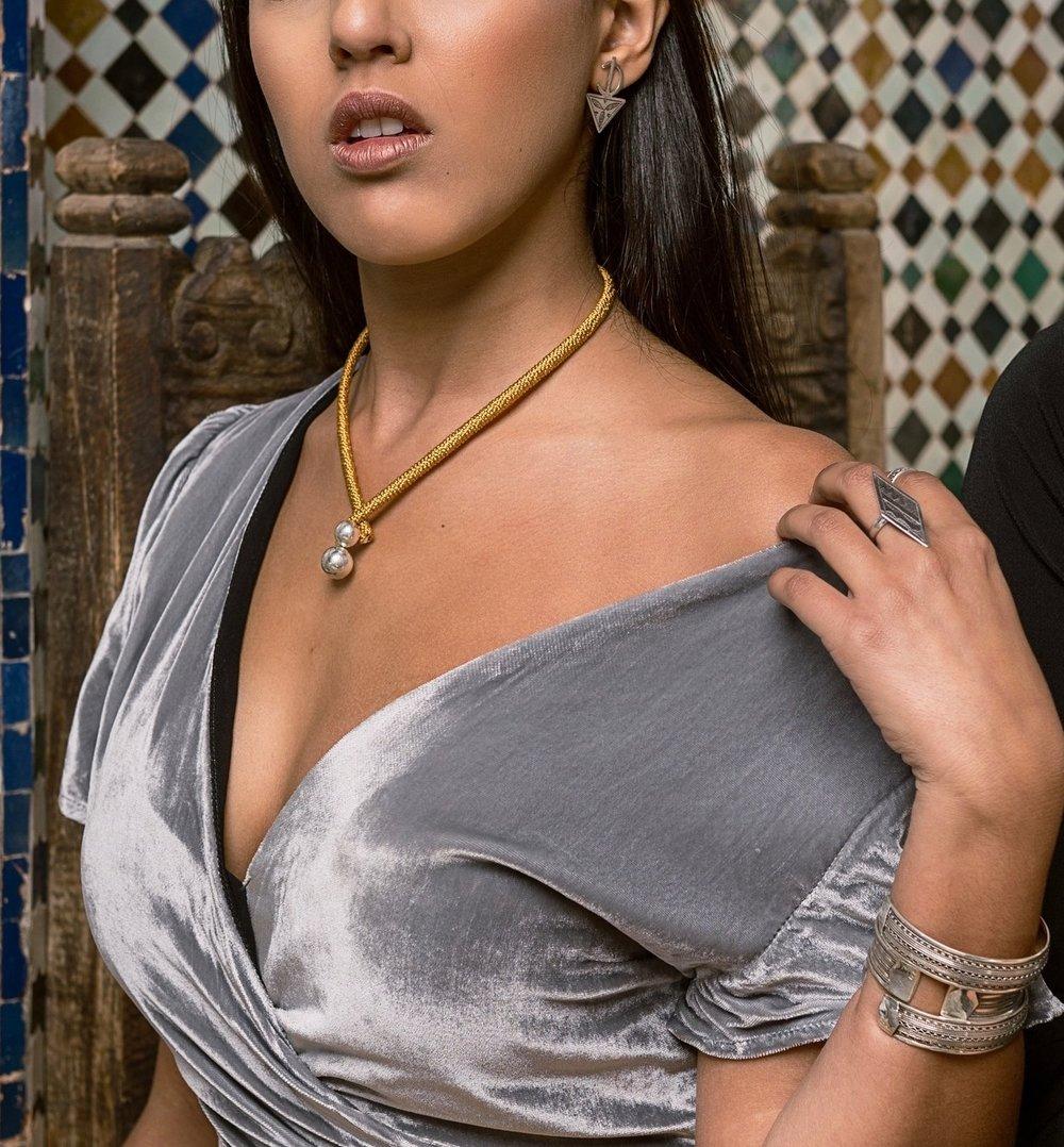 Al'Sham Silver Earrings