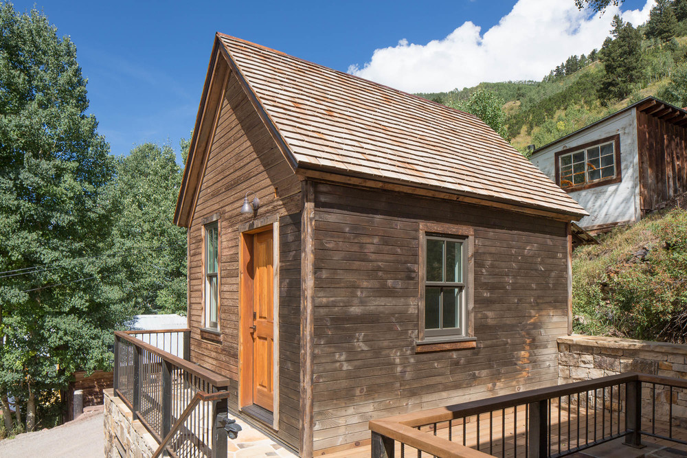 Mining Shed (1880's) in Telluride