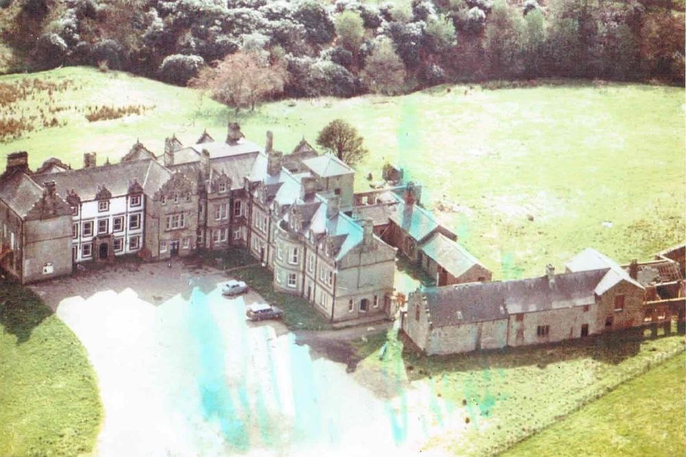 Kirklinton Hall - Aerial Image 1965