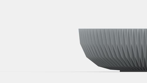 Lavabo diseñado por la empresa Sandhelden mediante impresión 3D