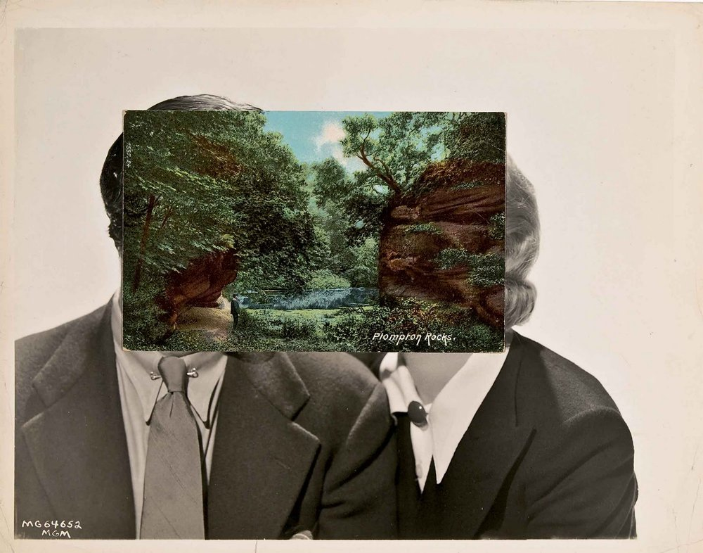 "'Pair 1' by John Stezaker, from the series ""Dark Star"" (2007)"