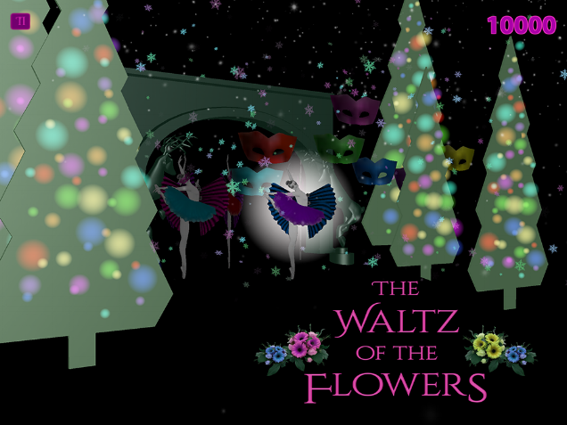 Here we are on our official teaser release date of The Nutcracker by Big Top Ballet. Featuring the Waltz of the Flowers with Tchaikovsky's composition reimagined into a delightful music box of playful notes by the wonderful and talented Ill-Esha.  Play for free on-line or download the paid mobile version on the App Store for iOS or Google Play for Android. This is a limited availability app until January 12, 2017. Buy the app this year and you will continue to receive annual updates during the holidays where continue to grow the title into the whole Nutcracker suite and adapt content to VR platforms.  Enjoy and let us know what you think!