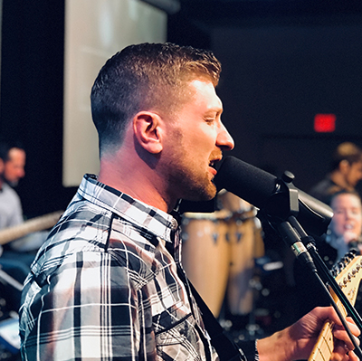 Matthew Hoffmann - Worship Leader   Matthew's heartbeat is to glorify the Messiah with the gifts God has given him, not the least of which is music ...  READ MORE