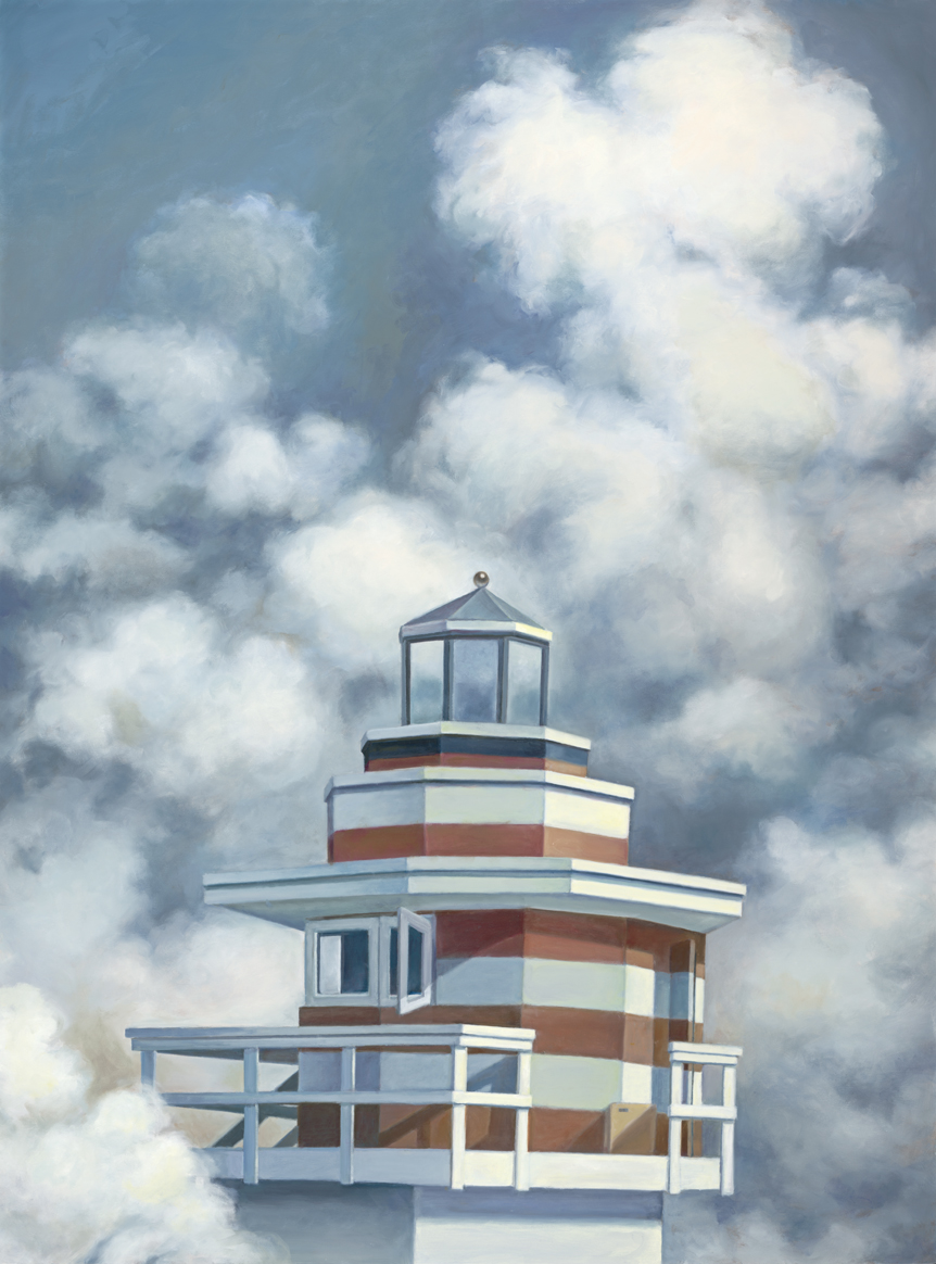 Beacon  (2018), oil on canvas, 48 x 36 inches