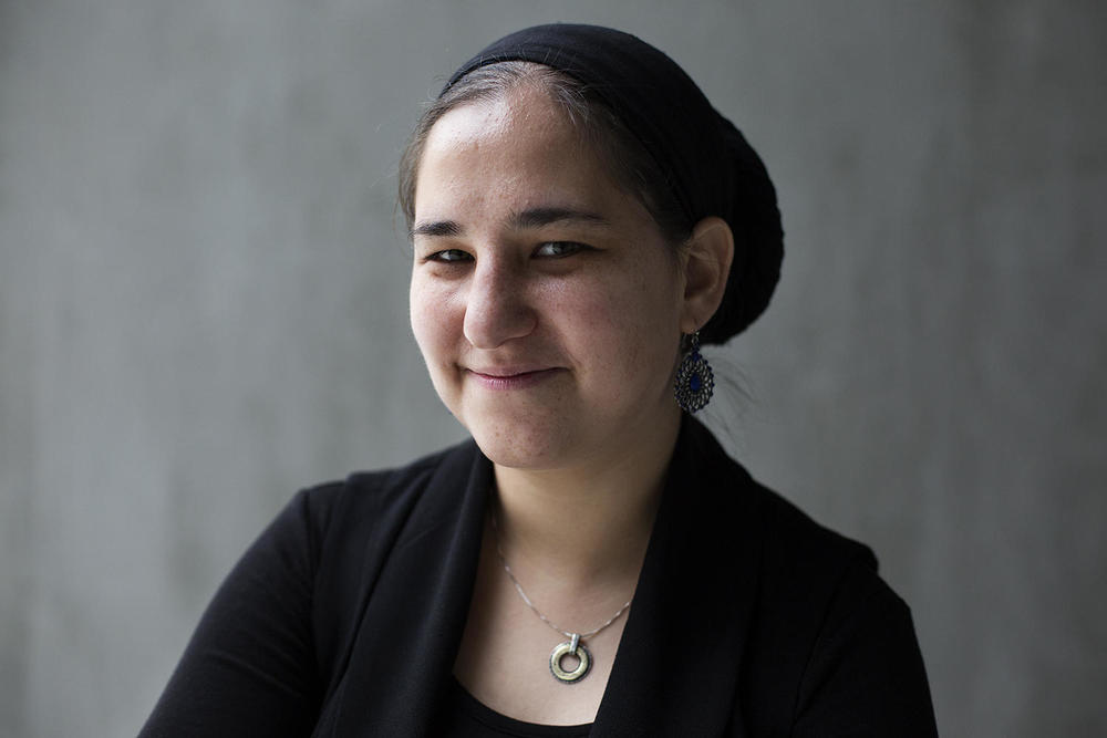 "Maharat Rori Picker Neiss, Jewish Community Relations Council: ""I would get up on the pulpit and I would say these are the issues of our time. and some people really loved that I gave voice to it, and some people really didn't."" CAROLINA HIDALGO 