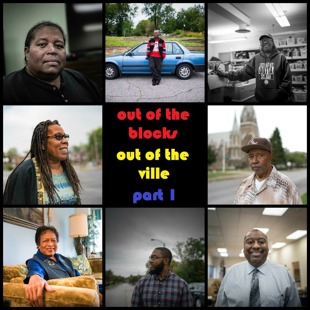 This fall, we teamed up with WYPR's Out of the Blocks podcast and the local  4theVille  organization to collect oral histories and stories of residents past and present from this historic black neighborhood in north St. Louis. PHOTOS BY WENDEL PATRICK