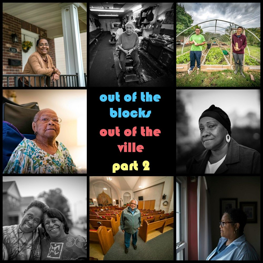 Last fall we teamed up with WYPR's Out of the Blocks podcast and the local  4theVille  organization to collect oral histories and stories of residents past and present from this historic black neighborhood in north St. Louis. PHOTOS BY WENDEL PATRICK