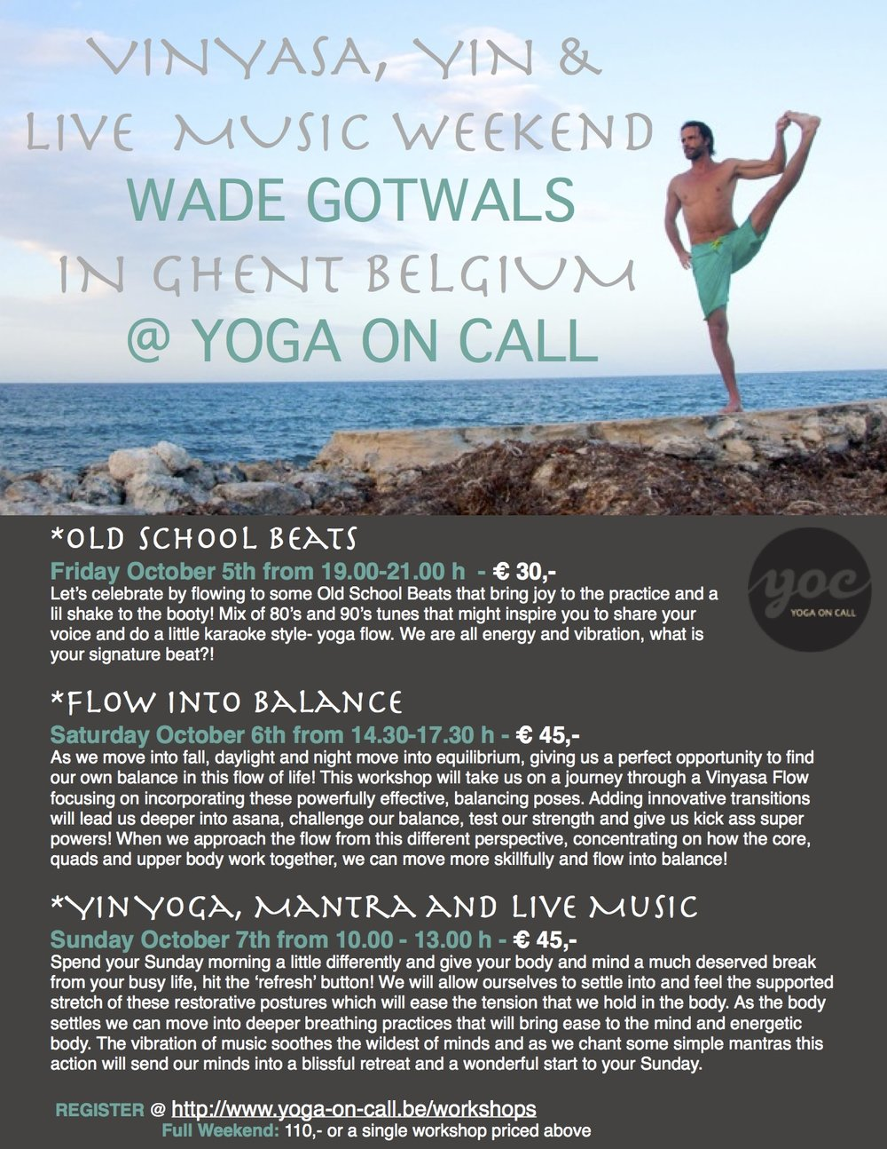Celebrating Voices October 30th Your >> Weekend Of Vinyasa Yin And Music In Ghent Wade Yoga