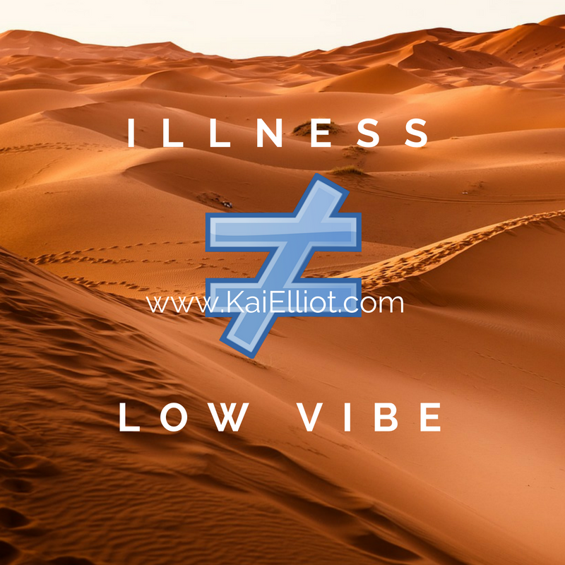 Sometimes it is in the person's highest good that they experience the illness and NOT heal, ever.  In this case, illness is actually HIGH VIBRATIONAL!