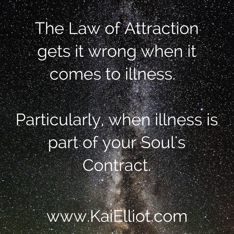illness law of attraction soul contract karma