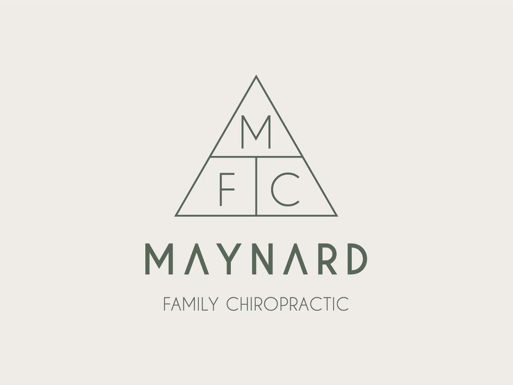 Branding & Signage  • Maynard Family Chiropractic