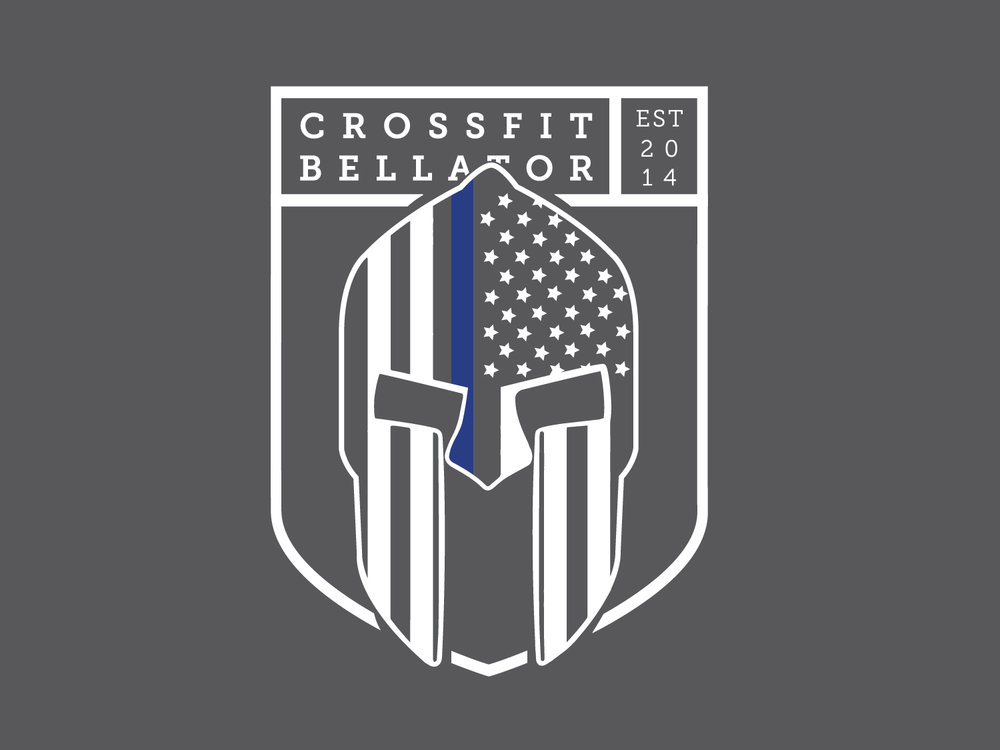 Logo Design & Custom Apparel Design • Crossfit Bellator