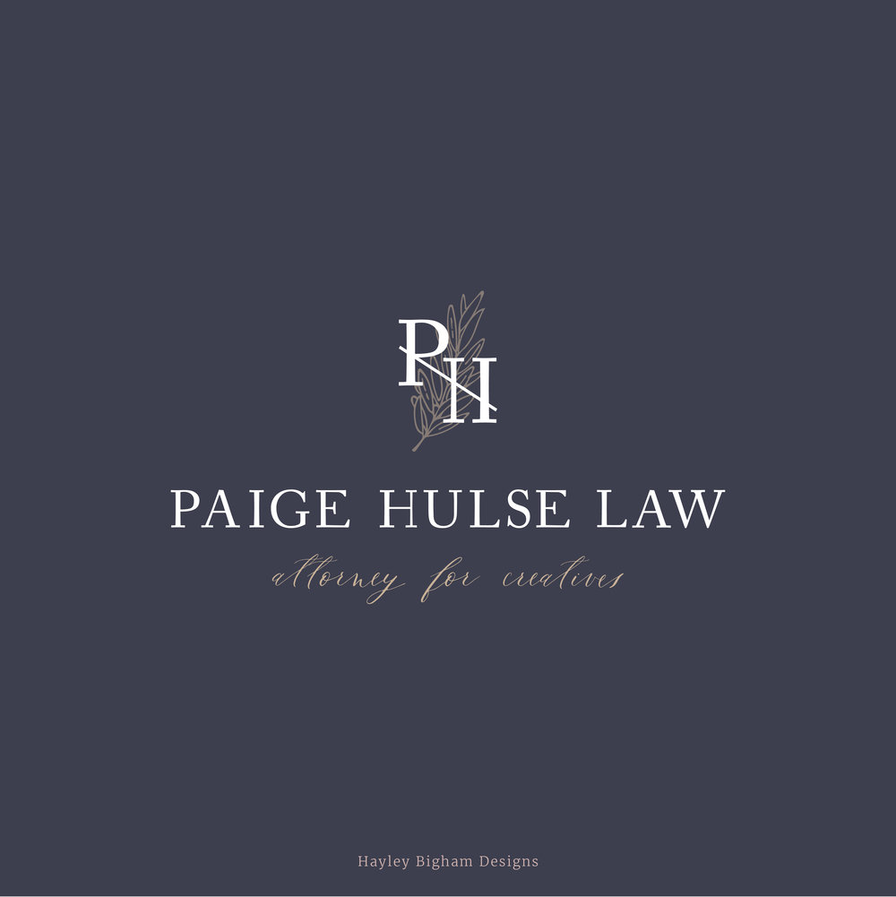 Logo Design & Stationary Design • Paige Hulse Law