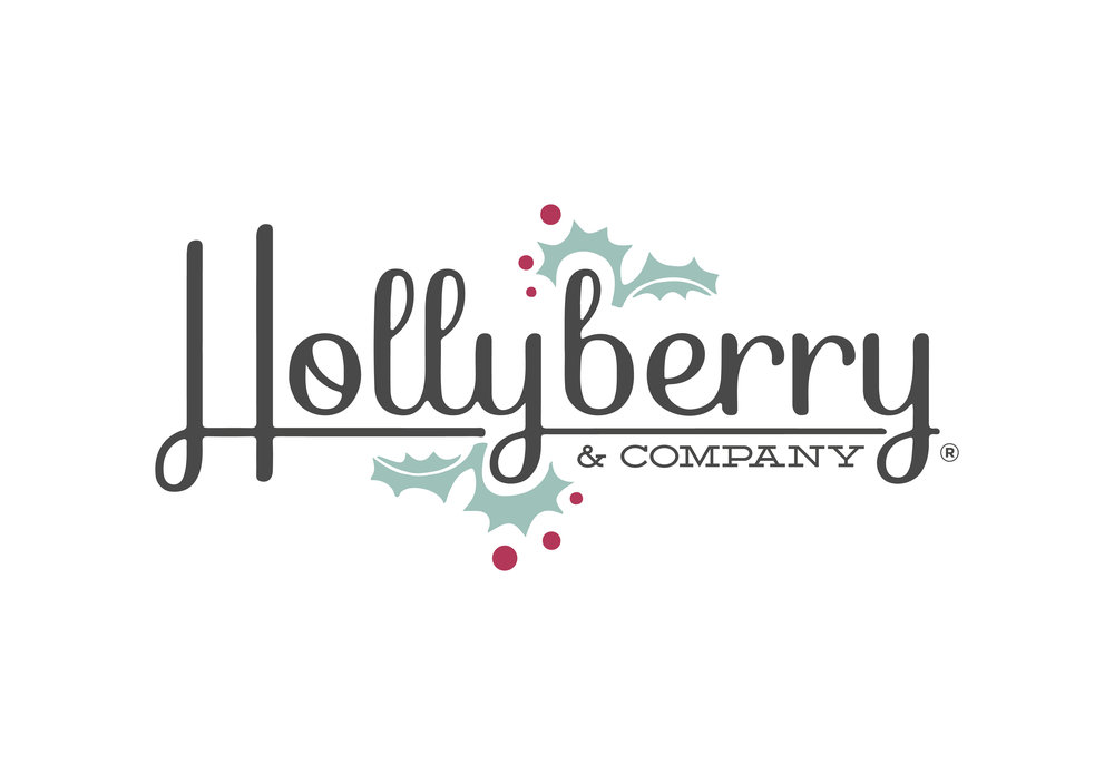 Logo Refresh & Stationary Design & Signage • Hollyberry & Co