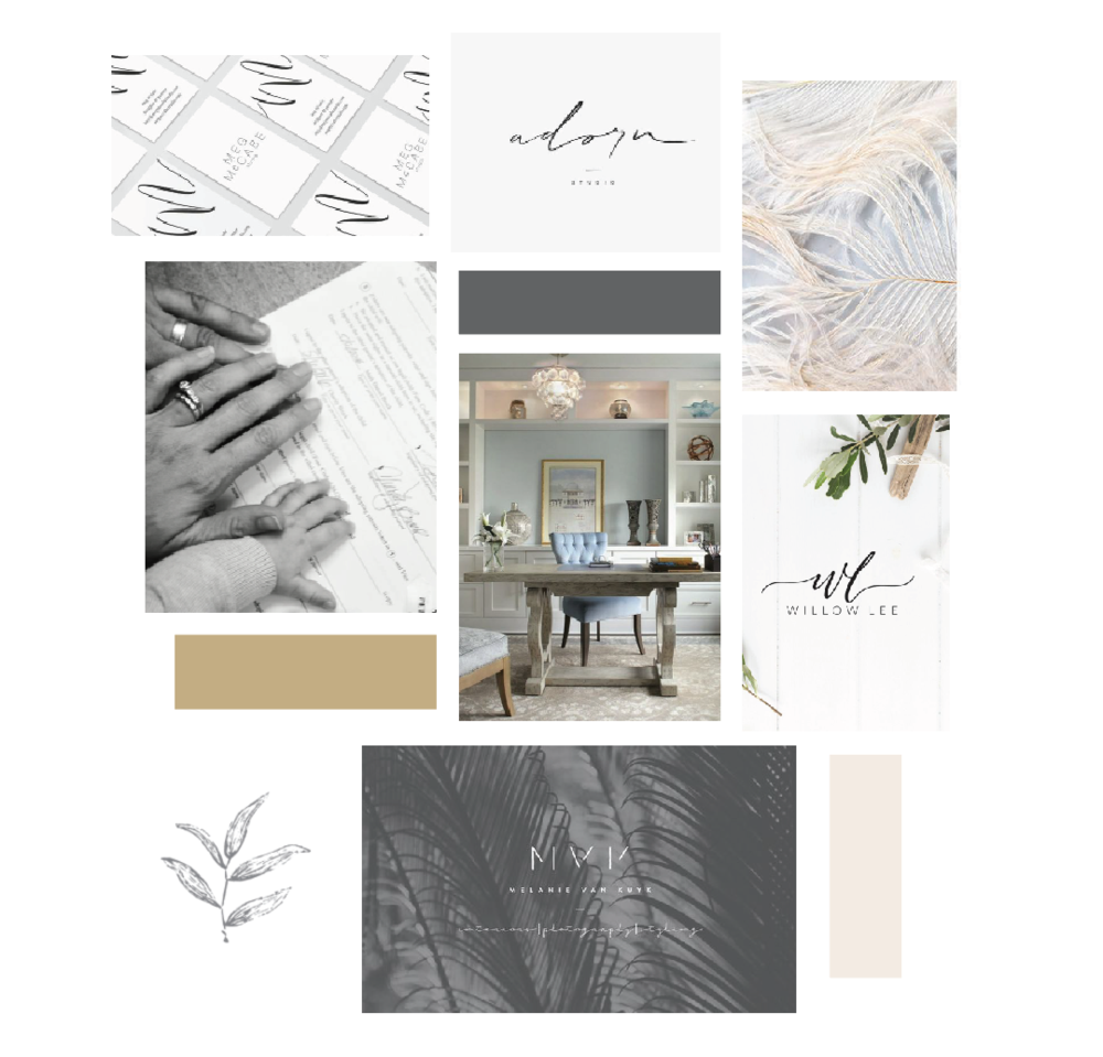 Beloved Adoption Law – adoption law firm – Hayley Bigham Designs – Tulsa Oklahoma Branding Studio – professional logo design - moodboard