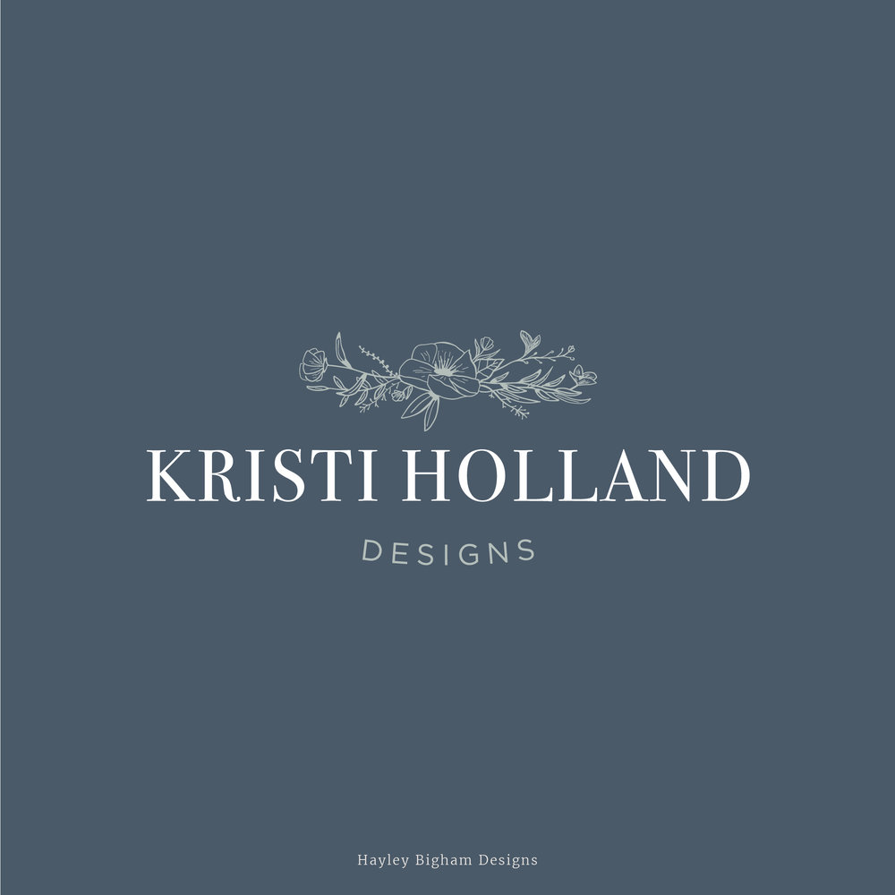 Logo Design • Kristi Holland Designs
