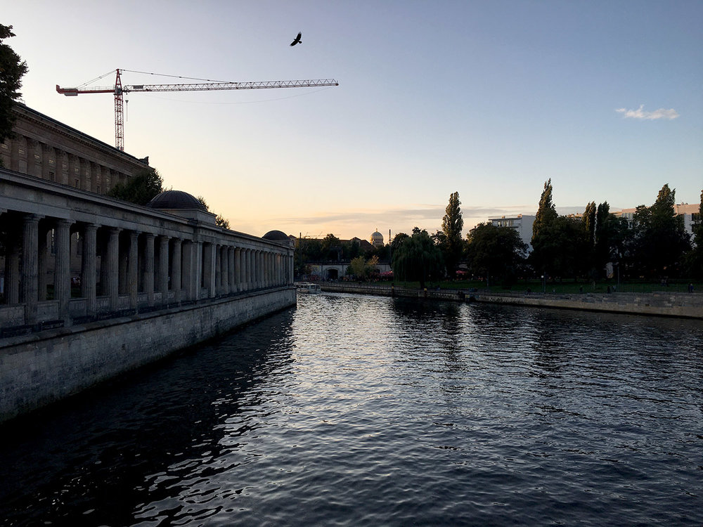 "The channel around ""Museum Island"""