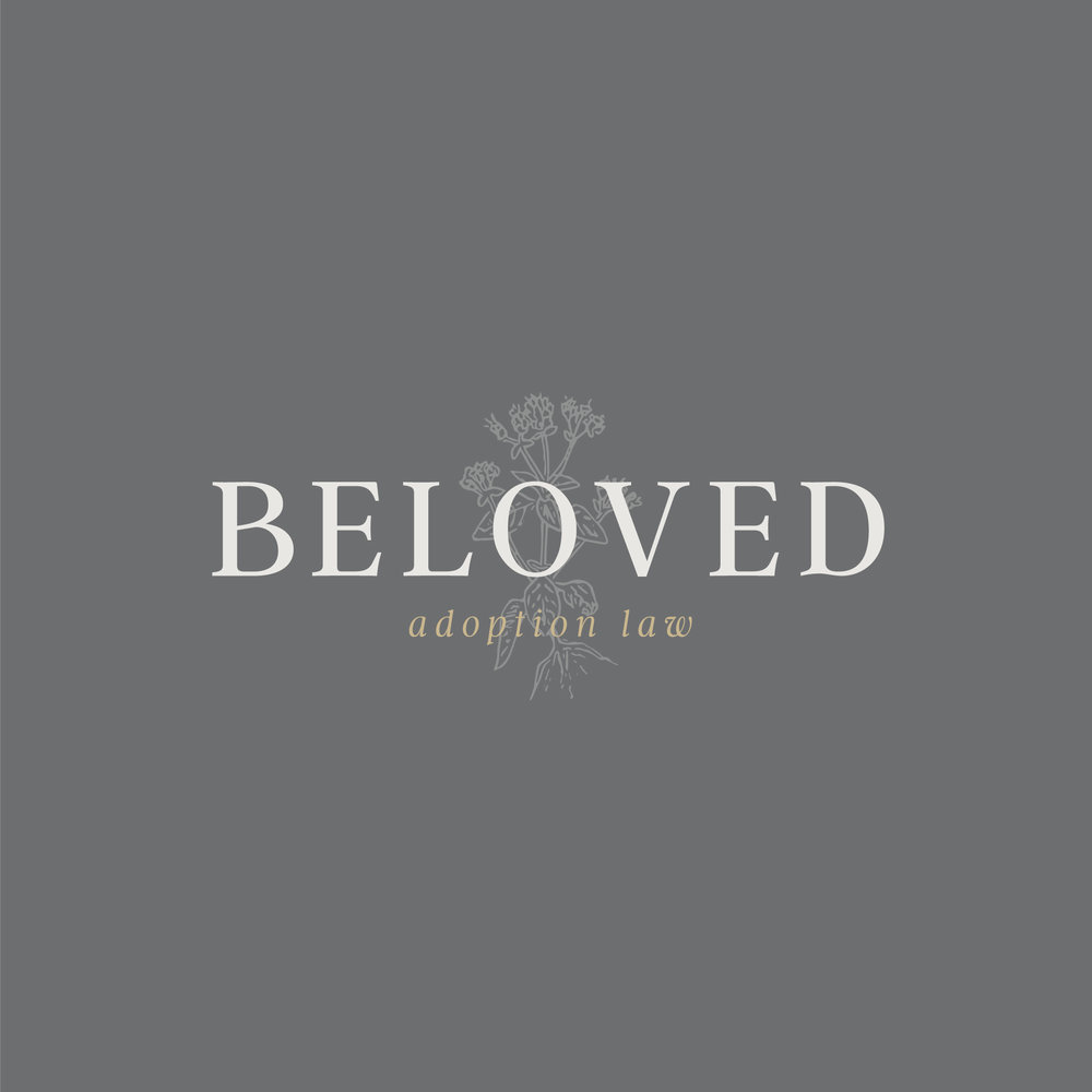 Beloved Adoption Law    Full Branding (Logo + Stationery)