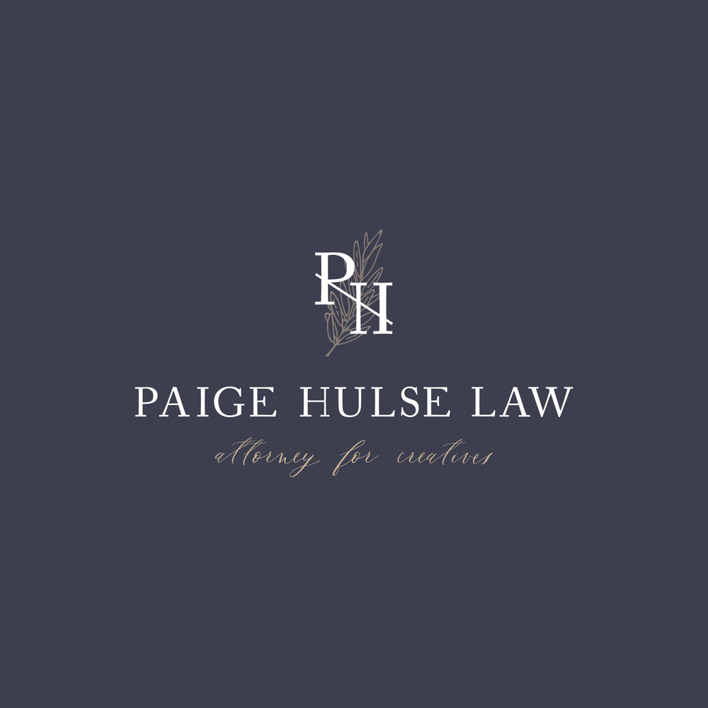 Paige Hulse Law    Full Branding (Logo + Stationery)