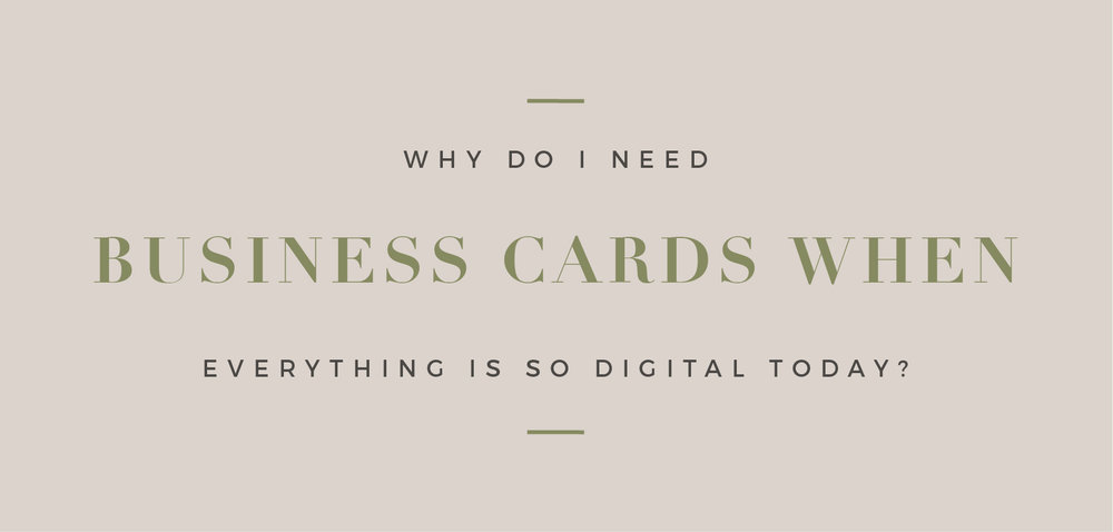 Hayley bigham designs why do i need business cards in the digital age hayleybighamdesigns why you need business cards design branding logodesign tulsa colourmoves