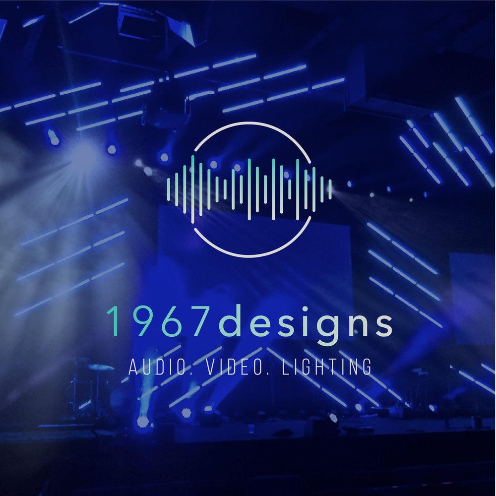 1967 Designs – production company – Hayley Bigham Designs – Tulsa Oklahoma Branding Studio – abstract modern logo