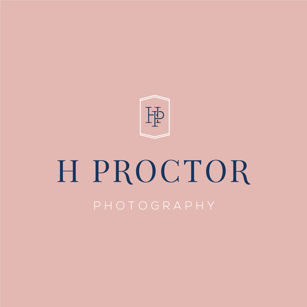 H Proctor Photography   Full Branding (Logo + Stationery)
