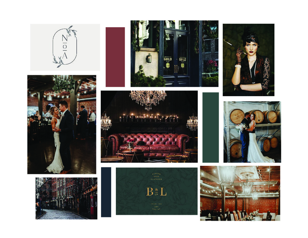 Pearl District Building-Tulsa-WeddingVenue-Branding-Moodboard-Speakeasy-Urban-ElegantLogo
