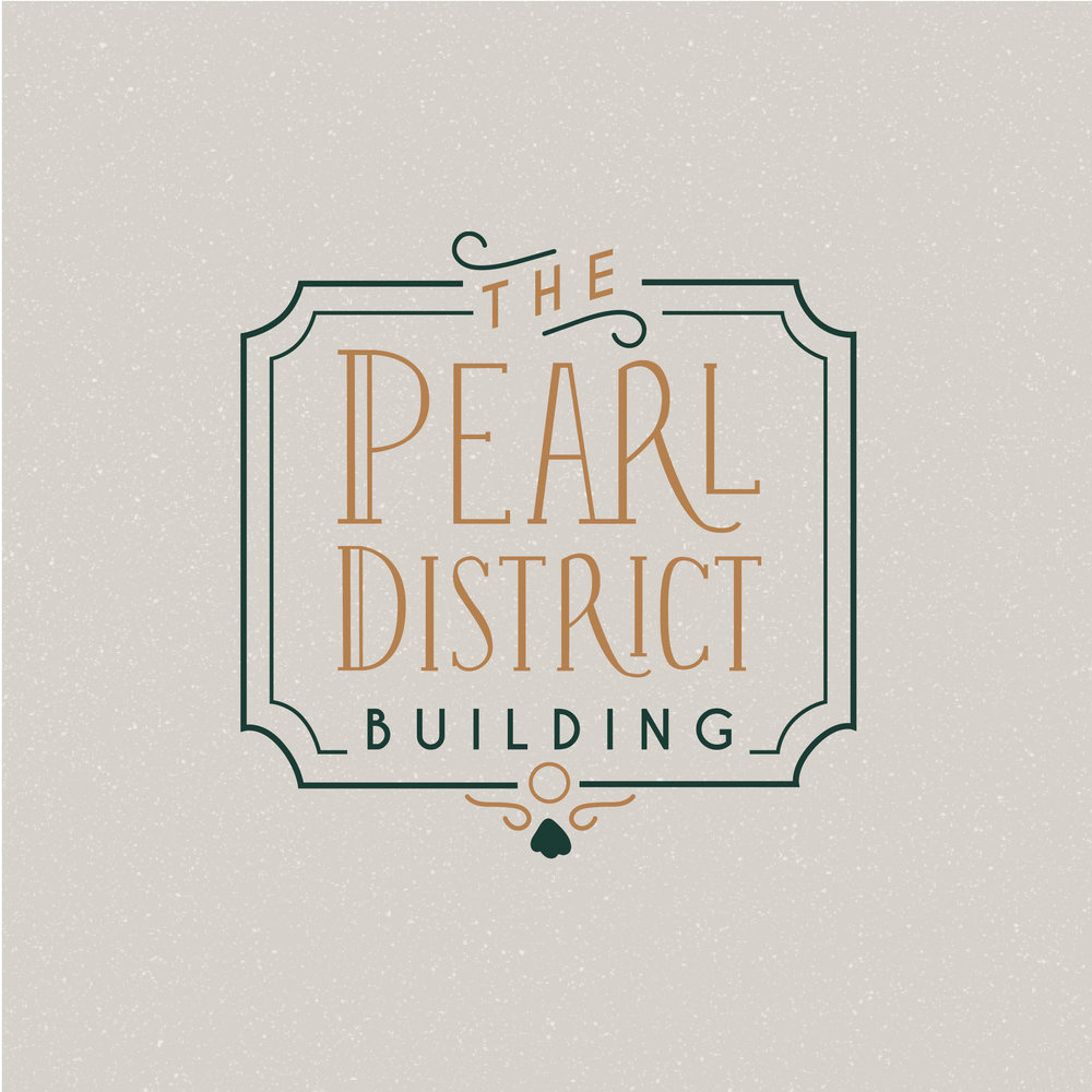 The Pearl District Venue    Full Branding (Logo + Stationery)