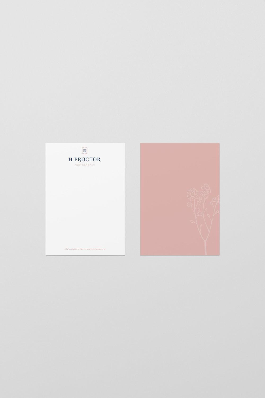 h proctor photography-wedding photographer-wedding notecard-tulsa brand designer-hayley bigham designs