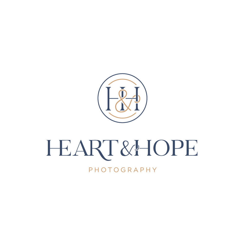 Heart & Hope Photography    Full Branding (Logo + Stationery) COMING SOON