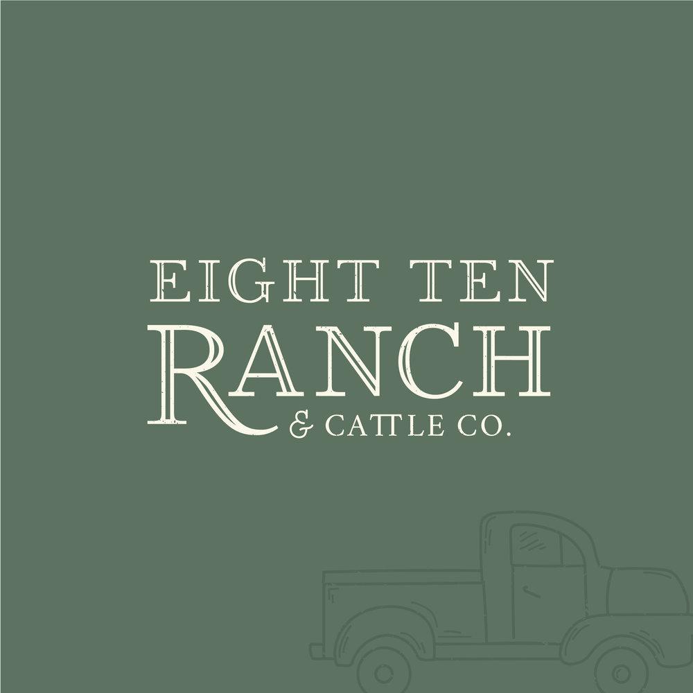 Eight Ten Ranch - Wedding Event Venue - Muskogee Oklahoma - Rustic Farmhouse Branding - HB Designs