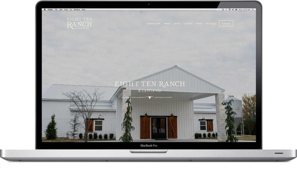 Eight Ten Ranch Branding - Website Design - Hayley Bigham Designs - Tulsa Branding Studio  - Farmhouse Branding